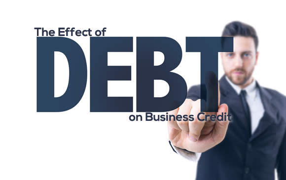The Effect of Debt on Business Credit