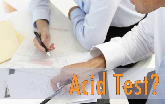 Business Owners and Acid Test