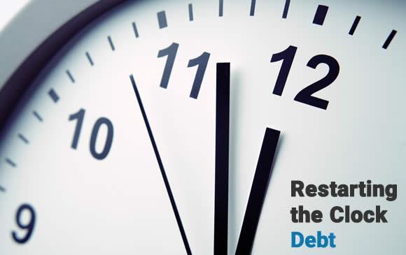 Restarting The Clock of Old Debt